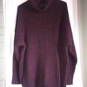 Aerie Turtleneck Pullover Sweater